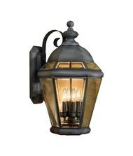 Artistic 4092-AC 4 Light Outdoor Wall Lanterns - Aged Copper