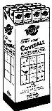 4CH2050B WARPS COVERALL per 2 RL