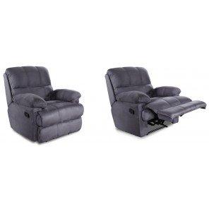 Schöne Möbel nicht lieben-Sitzgruppe 2 Sessel Relax, grau