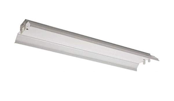 32 Watt Low Bay Fixture 48 Inch Long x... Fluorescent Cooper Lighting 2 Lamps