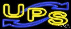 UPS Neon Sign - 13'' x 32'' (Ups Neon Sign)