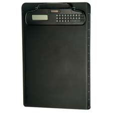 Officemate International Corp : Plastic Clipboard,w/Calculator Dual Battery,9