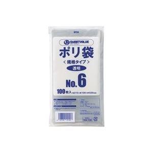 生活日用品 (業務用30セット) ポリ袋 6号 1000枚 B306J-10 B074MLNPSM
