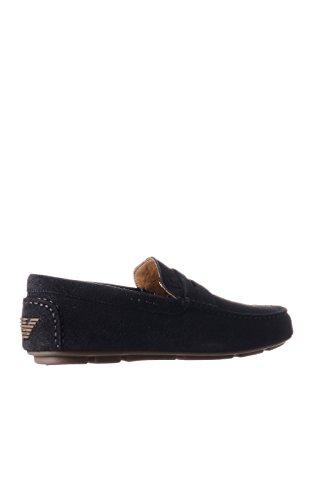 Armani Jeans 0658855 Herren Mokassin Brown
