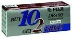 DRI9010PLUS2 Discontinued by Manufacturer Fuji 12 Audio Cassette Tapes