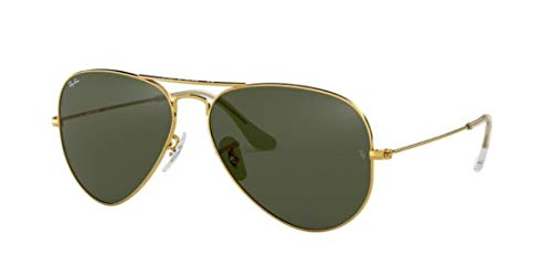 Ray Ban Aviator Classic Green - New RAY BAN RB3025 Aviator Sunglasses