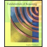 FUNDAMENTALS OF REASONING, Stephen P. Schwartz, 1932856196
