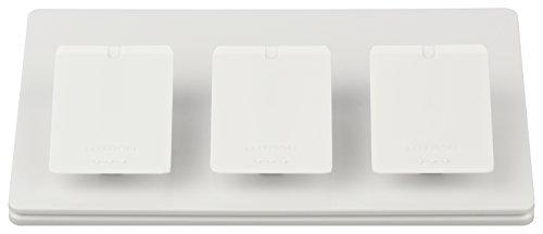 Lutron L-PED3-WH Pico Triple Tabletop Pedestal, White