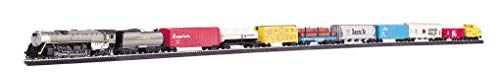 (Bachmann Trains - Overland Limited Ready To Run Electric Train Set - HO Scale)