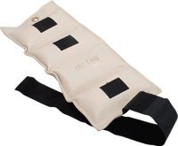 ANKLE WEIGHT CUFF, VINYL OUTER FABRIC, VELCRO CLOSURE, CONTAINS METAL PELLETS, TAN, 9LB