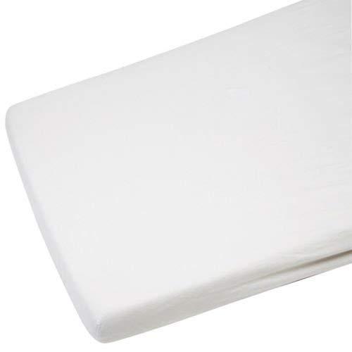 4/X Berceau Drap-housse en jersey 100/% coton Blanc 40/x 90/cm