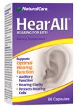 NATURALCARE HEAR ALL HEARING CLARITY, 60 CP