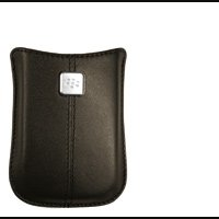 RIM BlackBerry Leather Pocket - Case for smartphone - leather - espresso - BlackBerry Curve 8900, BlackBerry Curve 8520