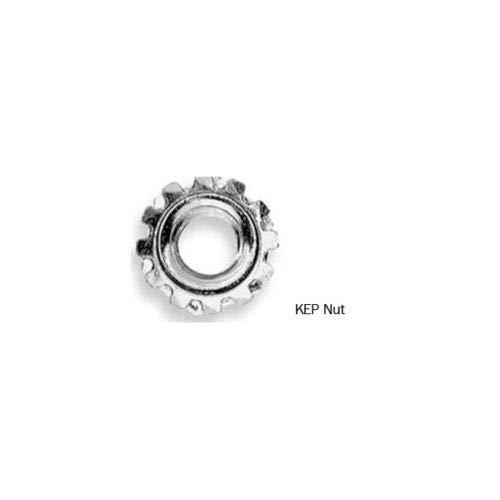 1/4 Inch x 20 Kep Lock Nut ZP (250 Qty)
