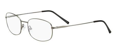 09!! Giorgio Armani 633 Eyeglasses (53/18/140, SEMI-SHINY DARK RUTHENIUM - Giorgio 9 Sunglasses