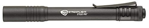 Streamlight 66118 Stylus Pro LED PenLight with Holster, Black - 100 Lumens