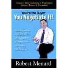 you negotitate it