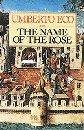 book cover of The Name of the Rose