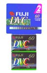 Fuji 2 Pack 60-Minute MiniDV Tapes
