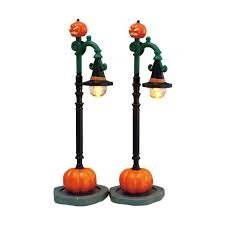 Lemax Spooky Town Witch Pumpkin Patch Lights, Set of 2, B/O (4.5V) #74217 ()