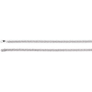 Chaîne Argent 925/100050,8cm Câble 6,75mm