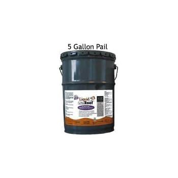 Liquid Roof RV Roof Coating U0026 Repair 5 Gallon