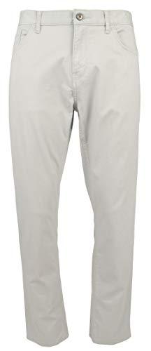 Michael Kors Mens Parker Slim Fit Stretch Casual Pants Gray 36/32 (Michael Kors Mens Belt)