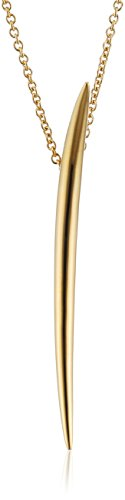 Shaun Leane Collier avec Pendentif Plaqué Or Femme 60cm