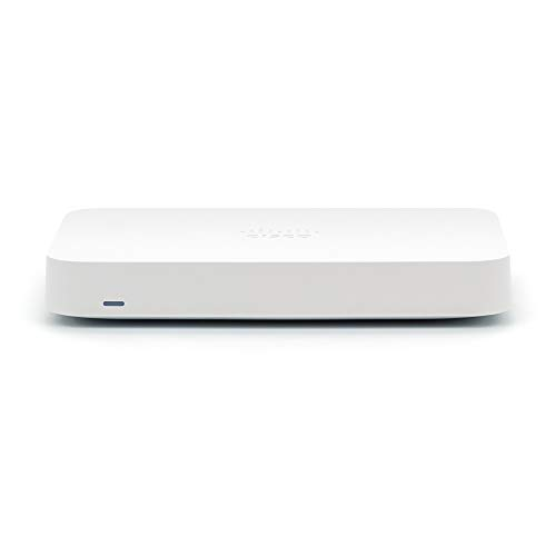 MERAKI GO Security Gateway | 5 Port Firewall & Router | Cloud Managed [GX20-HW-US]