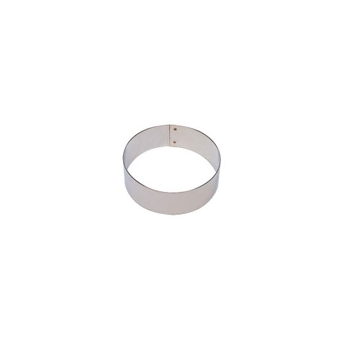 Matfer Bourgeat 371205 Flan Ring, Silver