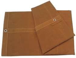Industrial Grade 5WTR0 Tarp, Standard Duty, Canvas, 6 x 10Ft by Industrial (Standard Tarp)