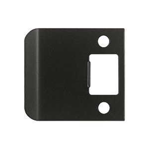 Deltana SPE250 2-1/2 x 2-1/4 Extended Lip Strike Plate, Oil Rubbed Bronze by Deltana