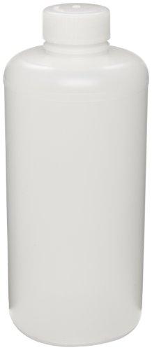 - Bel-Art Precisionware Narrow-Mouth 1000ml (32oz) High-Density Polyethylene Bottles; Polypropylene Cap, 38mm Closure (Pack of 6) (F10620-0008)