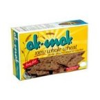 Ak-Mak, Whole Wheat Flour Sesame Cracker, 4.15 oz Pack Of Six Ak Mak Crackers