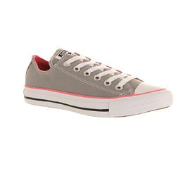 Chuck Zapatos Star Taylor Canvas All Converse unisex Pink de lona Grey gIdUqU7