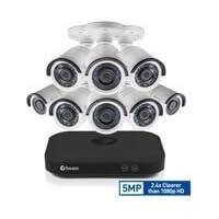 Swann HD 8-Channel 8-Camera Indoor/Outdoor Wired 2TB DVR Surveillance System