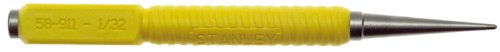 Stanley 58-911 1/32 Inch Tip Yellow Cushion Grip Nail Set