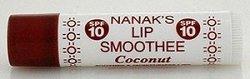 Nanak's Lip Smoothee Lip Balms - Coconut - Lip Smoothee Lip Balm Eaches