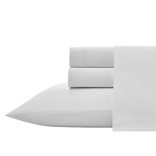 Vera Wang Triple Merrow Sheet Set, White