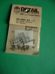 - Detail Associates AH 1602 Air Horn HO Scale Diesel Parts