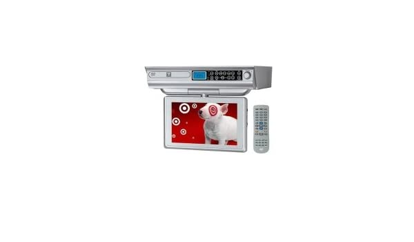 amazon com trutech 10 under cabinet lcd tv dvd cd player combo