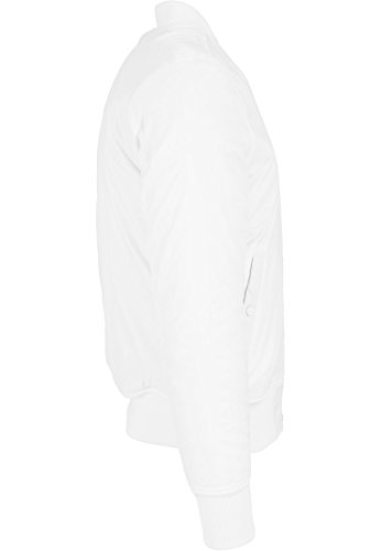 Urban Classics Veste Bomber classique, pour homme XL blanc