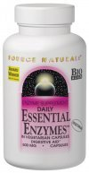 Source Natural Daily Essential Enzymes 360capsules- 2 pack