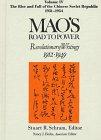 Mao's Road to Power: Revolutionary Writings, 1912-1949, , 1563248913