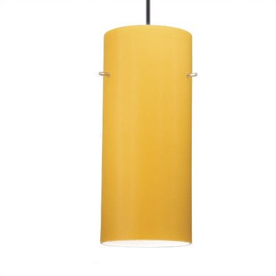 Line Voltage Pendant Glass Shade - WAC Lighting PLD-G454-WT Dax - White Shade for Line Voltage Pendant, Shade Only