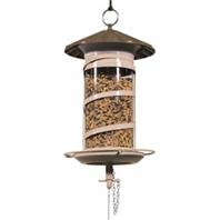 DPD EFFORTLESS BARREL MIX SEED FEEDER - Size: LARGE - Color BROWN by DPD