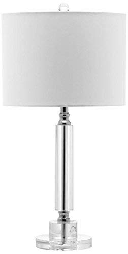 Safavieh Lighting Collection Deco Column Crystal 24.5-inch Table Lamp (Set of 2) by Safavieh (Image #2)
