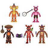 Funko Five Nights at Freddys Pizza Simulator Series 4 Articulated Action Figures (Set of 5) ()