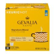 Gevalia Signature Blend Coffee K-Cup Pods 18 ct Box ()