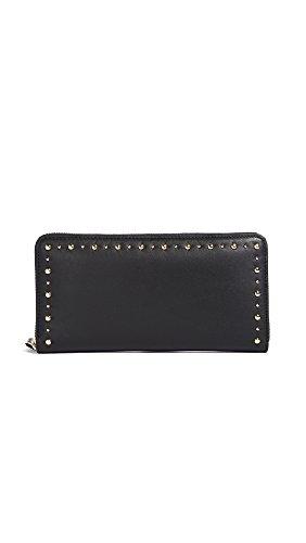 Diane von Furstenberg Women's Continental Wallet, Black, One Size by Diane von Furstenberg